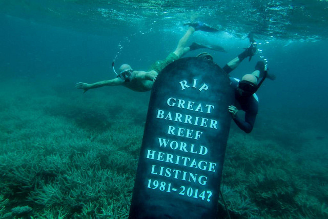 great barrier reef world heritage