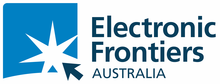 Electronic Frontiers Australia logo